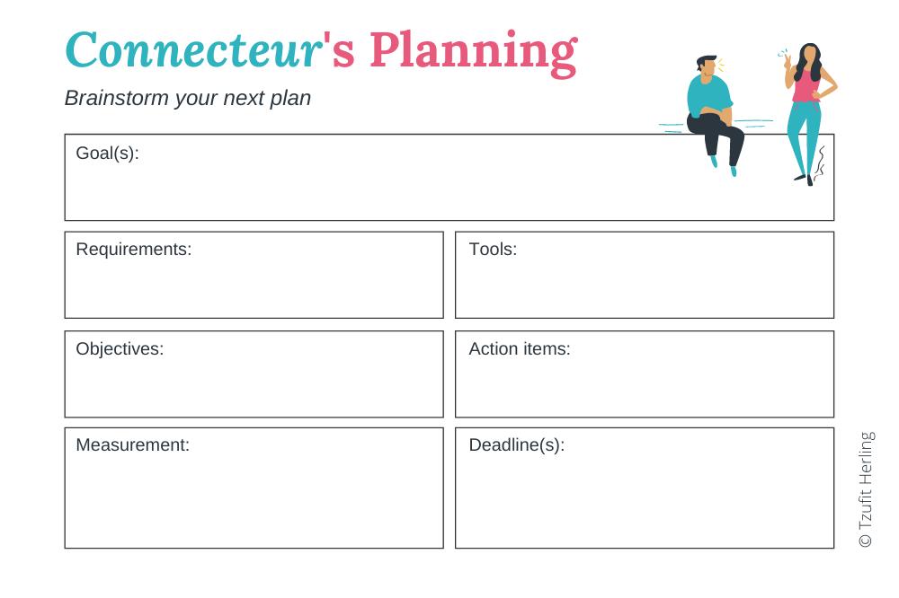 Connecteur's Planning template