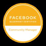 מוסמכת לניהול קהילות מטעם פייסבוק