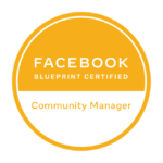 Facebook Community Manager Certification