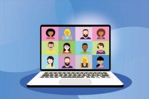 Community virtual meetings